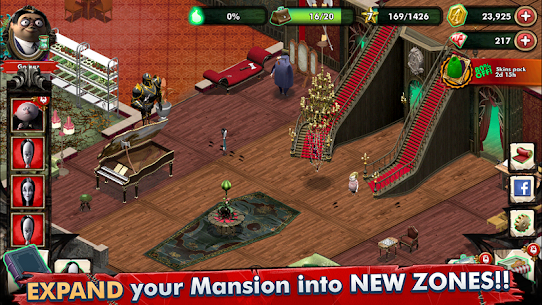 Addams Family: Mystery Mansion – The Horror House! Apk Download For Android and Iphone 4