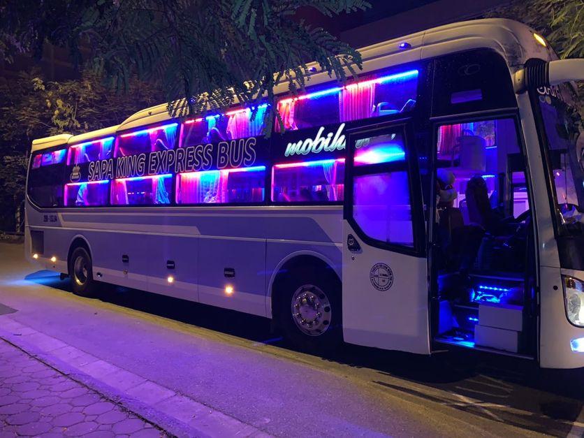 Xe King Express Bus từ Hà Nội đi Sapa
