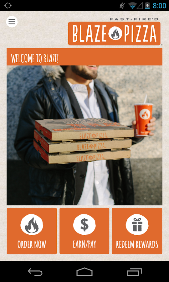 Blaze Pizza- screenshot