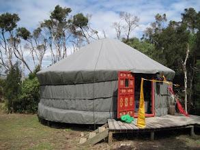 Photo: The Yurt at Galleria del Mare