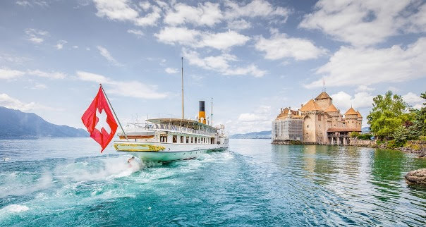 Lake Geneva; Vaud, Geneva & Valais