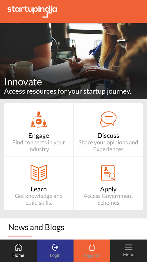Startup India Hub- screenshot
