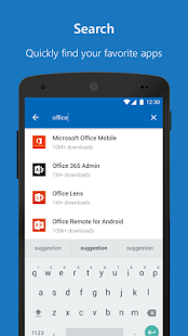 Microsoft Apps- screenshot thumbnail