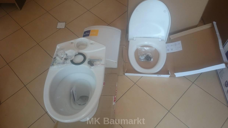 cersanit wc komplettset wc toilette stand tiefsp ler bodenstehend soft close ebay. Black Bedroom Furniture Sets. Home Design Ideas
