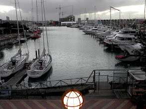 Photo: View from our restaurant