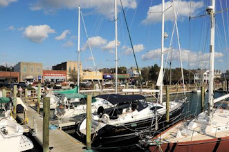 """Photo: Beaufort's waterfront is a big tourist draw. The town tied with a New York community for """"America's Coolest Small Towns."""" (Dylan Ray photo)"""