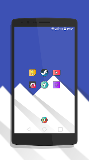 Griddy Icon Pack Apps for Android screenshot