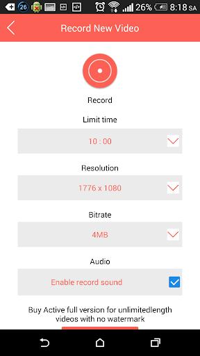 Screen Recorder - Free  screenshots 3