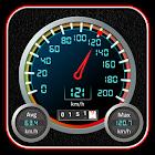 Velocímetro y cuentakilómetros icon