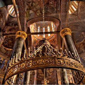 by Zoran Nikolic - Buildings & Architecture Architectural Detail ( st george, church, buildings, colour., architecture )