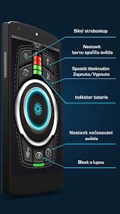 Svítilna - Baterka LED světlem - náhled