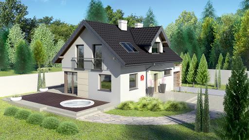 projekt Dom przy Alabastrowej 3