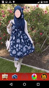 Hijab Girls Selfie - náhled