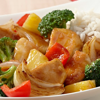 Honey Pineapple Chicken Stir-Fry