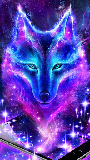 Night Sky Wolf Live Wallpaper - Apps on