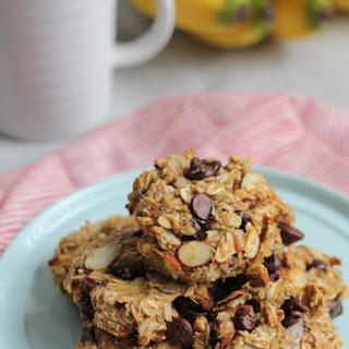Skinny Banana Oat Flaxseed Cookies.