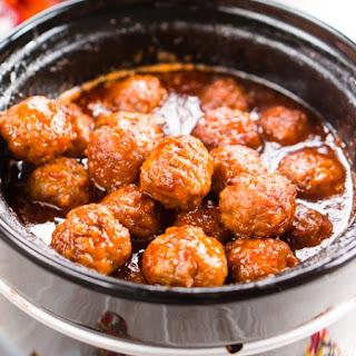 Apple Cocktail Meatballs Recipe