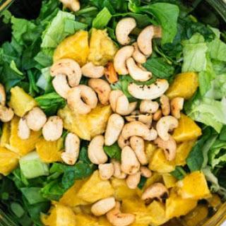 Orange Cashew Salad.