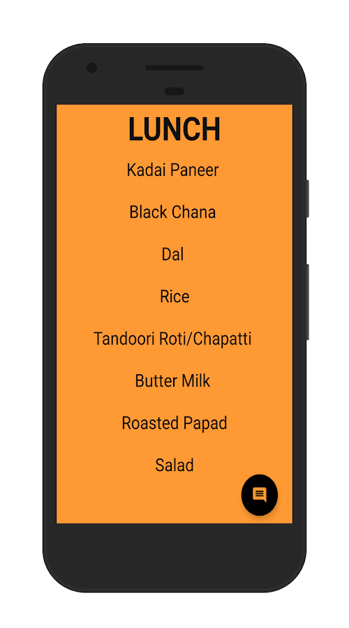Mess Menu NMIMS Shirpur- screenshot