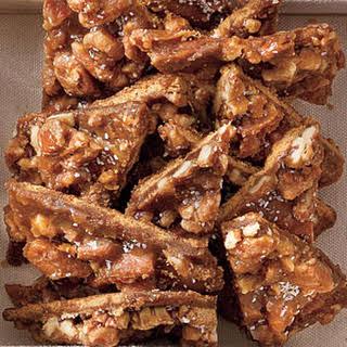 Salted Caramel-Pecan Bars.