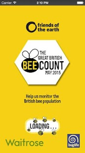 The Great British Bee Count - screenshot thumbnail