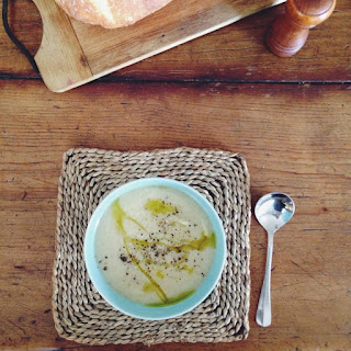 Roasted Cauliflower and Fennel Soup.