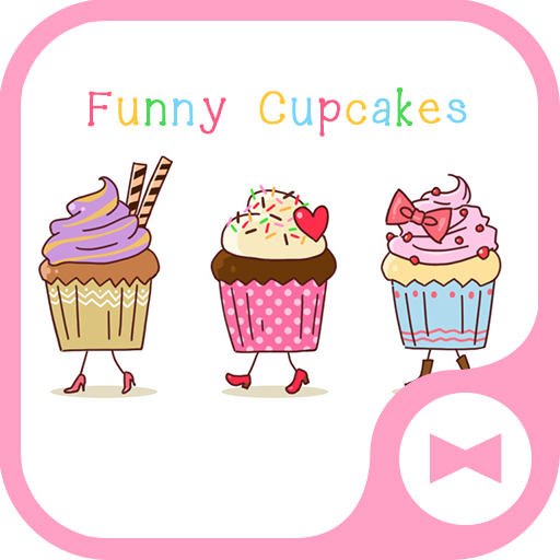 Wallpaper Funny Cupcakes Theme Android APK Download Free By +HOME By Ateam