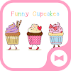 Wallpaper Funny Cupcakes Theme