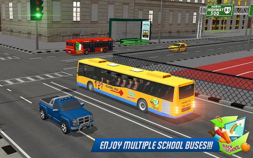 School Bus Driver Simulator 2018: City Fun Drive 1.0.2 screenshots 4