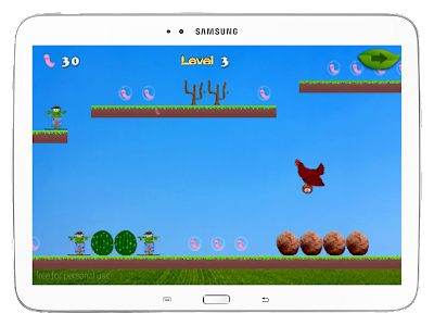 Chicken On A Hoverboard screenshot 11