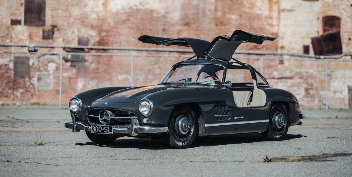 Mercedes-Benz 300 SL | Viteza maxima 225 km/h