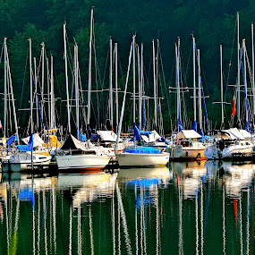 DOCKED by Bethany Kenney - Landscapes Waterscapes (  )