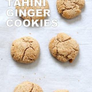 Ginger Tahini Cookies 1 Bowl