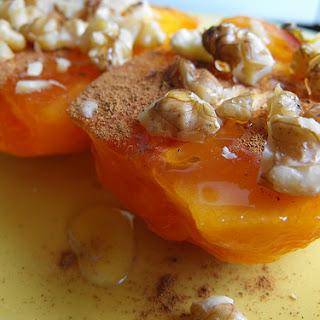 Quick Persimmon Dessert.