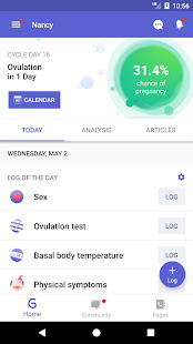 App Glow: Fertility Calculator and Ovulation Tracker APK for Windows Phone