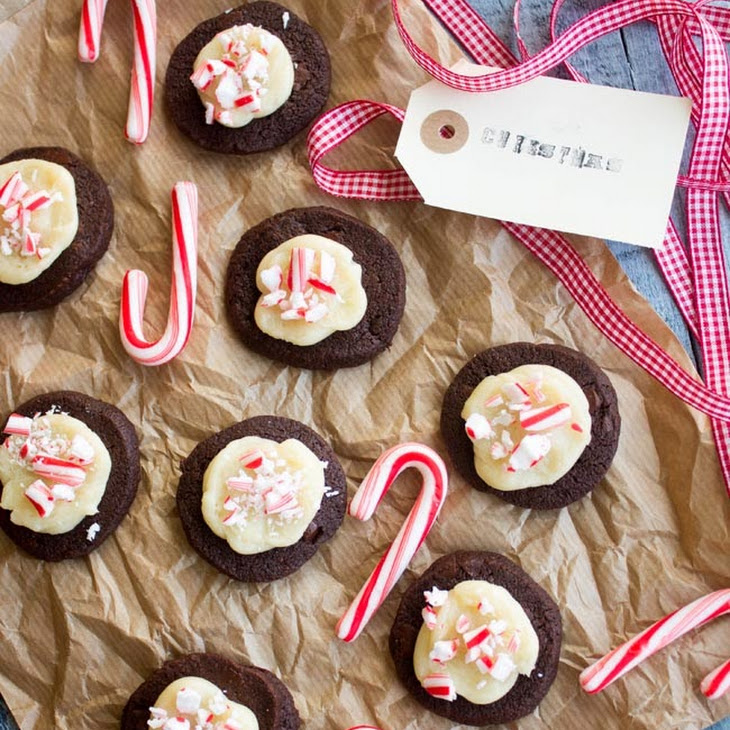 Candy Cane Chocolate Cookies Recipe