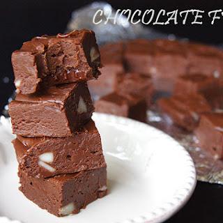 Chocolate Fudge.