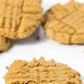 Dairy Free Peanut Butter Cookies.