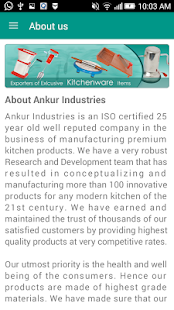 Ankur  kitchenwares- screenshot thumbnail