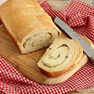 Garlic Herb Swirled Bread