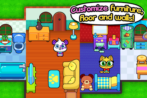 Forest Folks - Cute Pet Home Design Game 1.0.4 screenshots 2