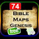Bible Maps Genesis Free icon
