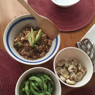 Lemongrass Chicken and Quinoa