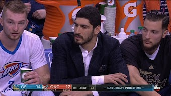 Golden State Warriors at Oklahoma City Thunder from 02/11/2017