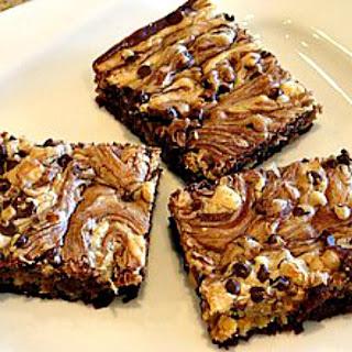 Peanut Butter Swirl Brownies.