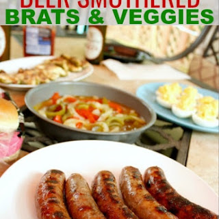 Smothered Brats & Veggies Recipe