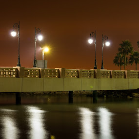 JUBAIL KSA by Abdullah Alghamidi - Buildings & Architecture Bridges & Suspended Structures ( city, night )