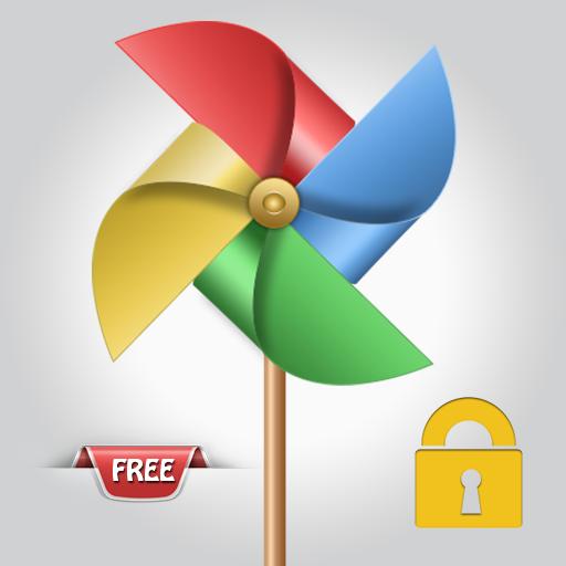 个人化の風車画面のロック LOGO-記事Game