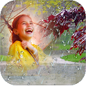 Rain Overlay Frame With Effect  icon
