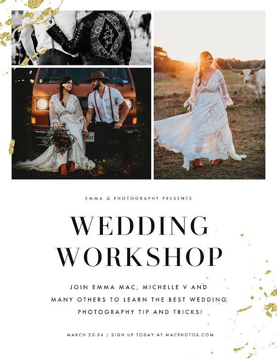 Wedding Photo Workshop - Wedding Template
